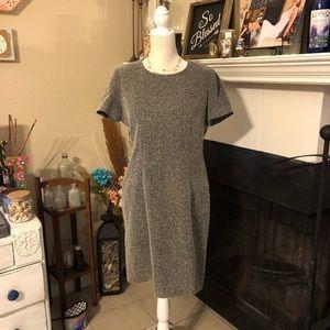Vertigo Tweed Career Dress
